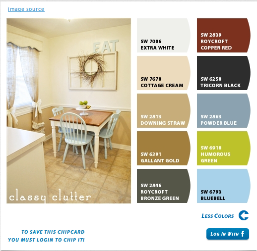 Find Your Perfect Paint Colors Classy Clutter