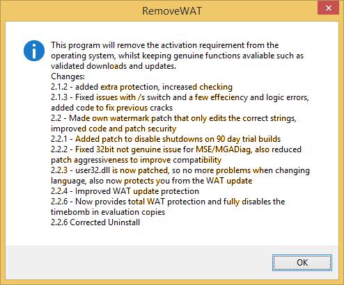 RemoveWAT 2.2.6 Final