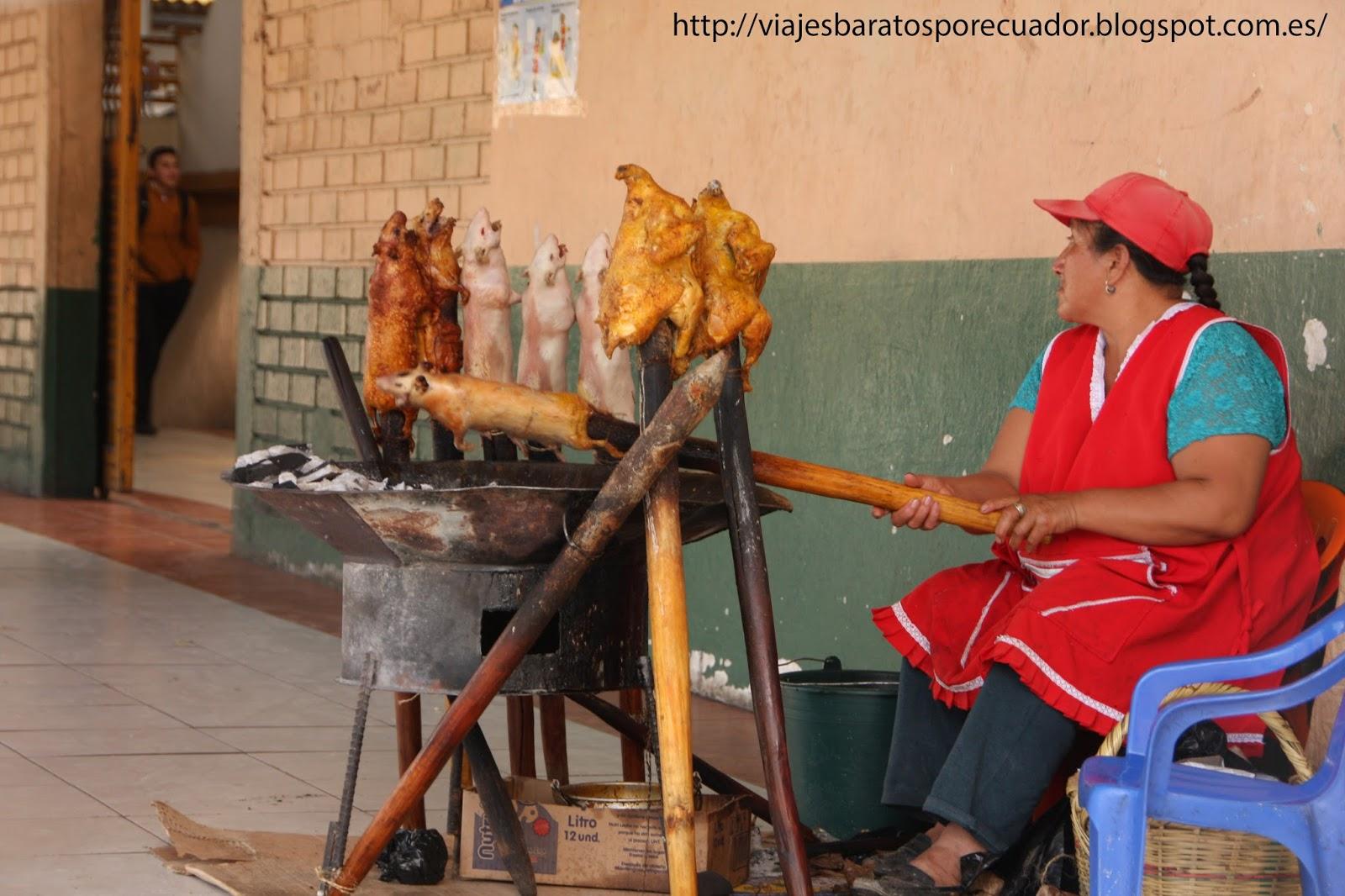 Mercado gualaceo cuenca