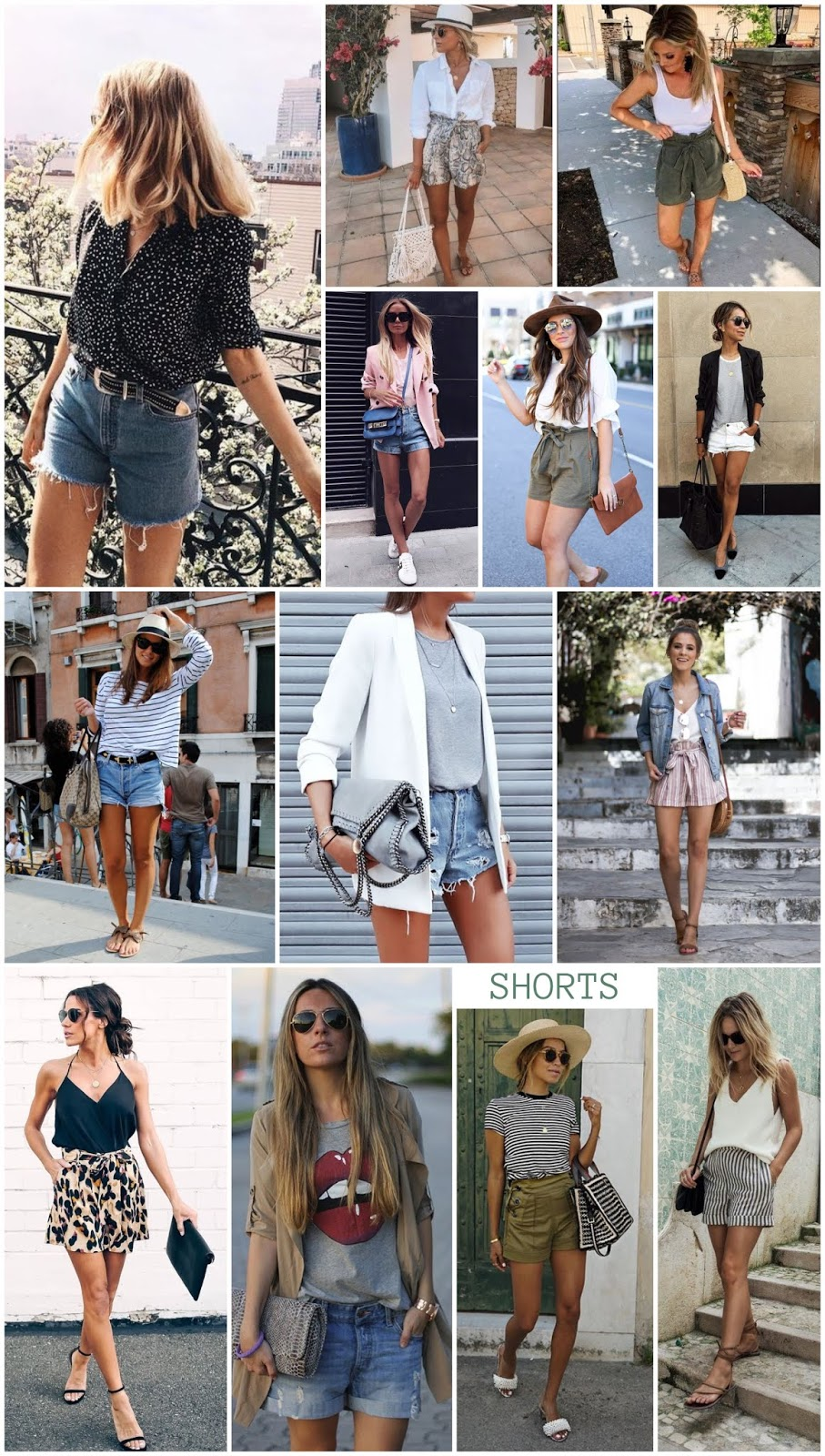 How to Wear: Shorts - Inspiration
