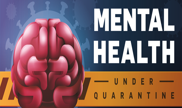 Mental Health In Isolation #infographic
