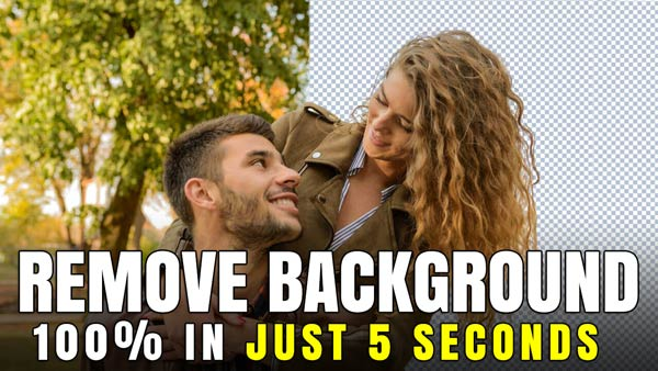 How to Remove an Images Background in just 5 Sec