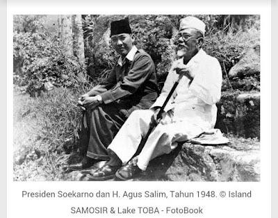 Presiden Pertama RI Soekarno juga pernah ke Samosir