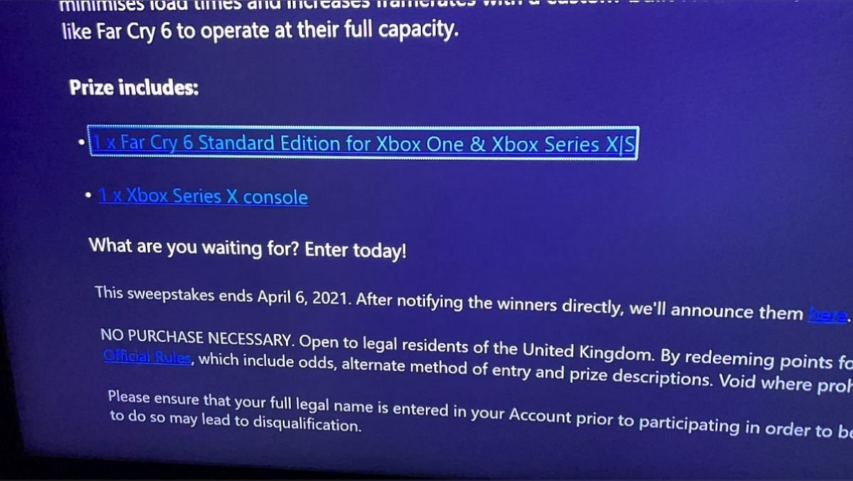 Microsoft has leaked a possible release date for Far Cry 6 Screenshot