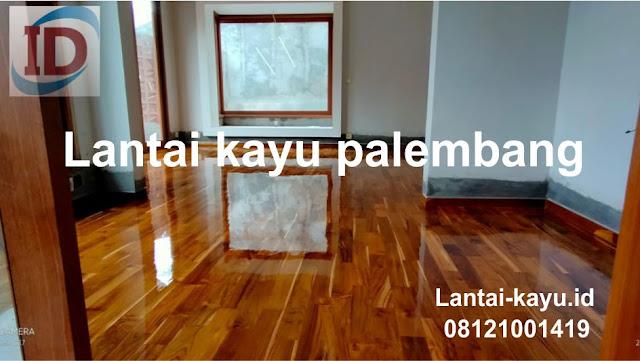 lantai kayu palembang murah