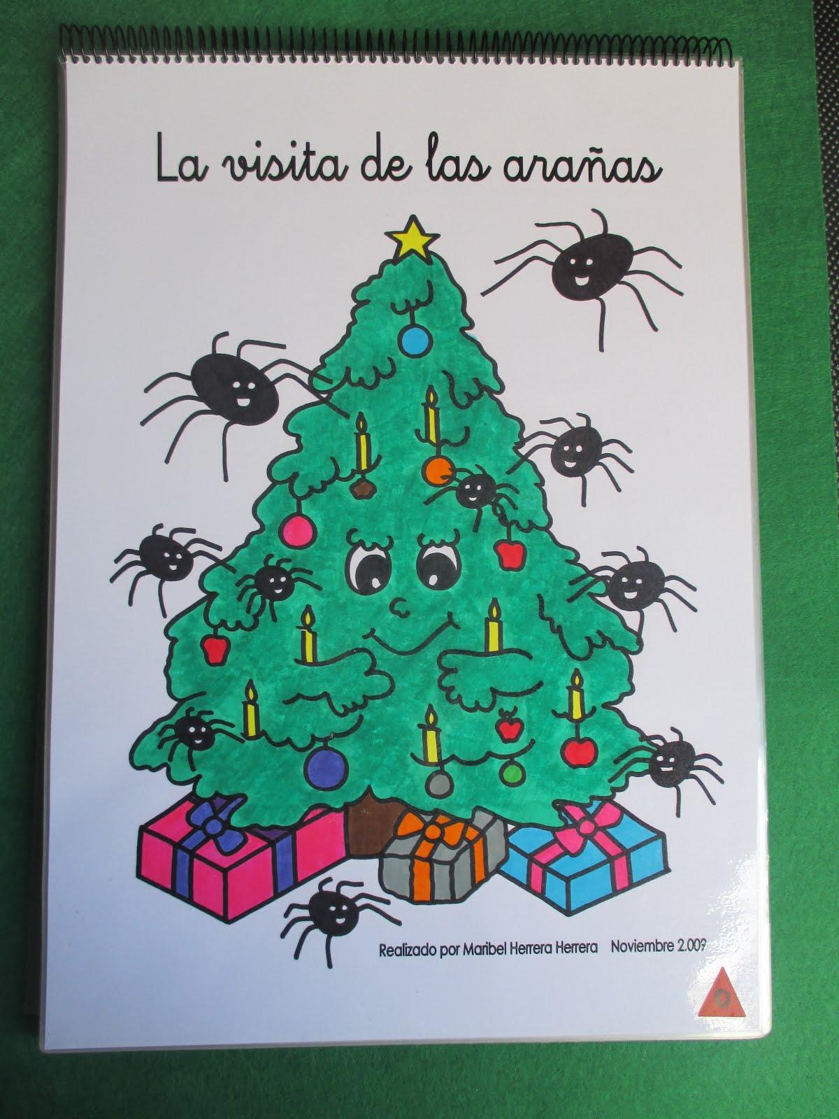 Escuela con vida cuento de navidad la visita de las ara as - Cuento del arbol de navidad ...