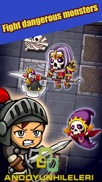 Dungeon Knights Mega Hileli APK