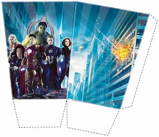 Avengers: Free Printable Mini Kit.