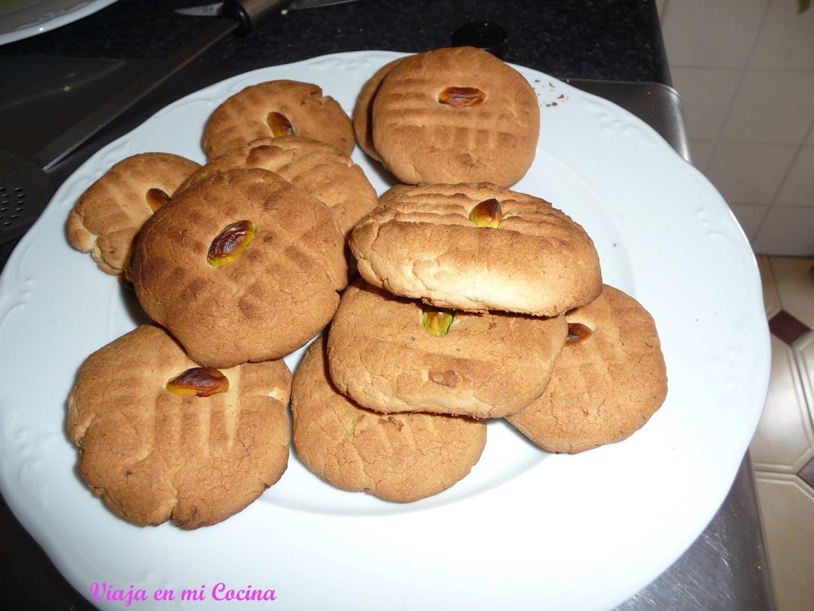 Galletas de mantequilla afghanas