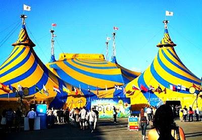 Cirque Du Soleil Tent Ottawa