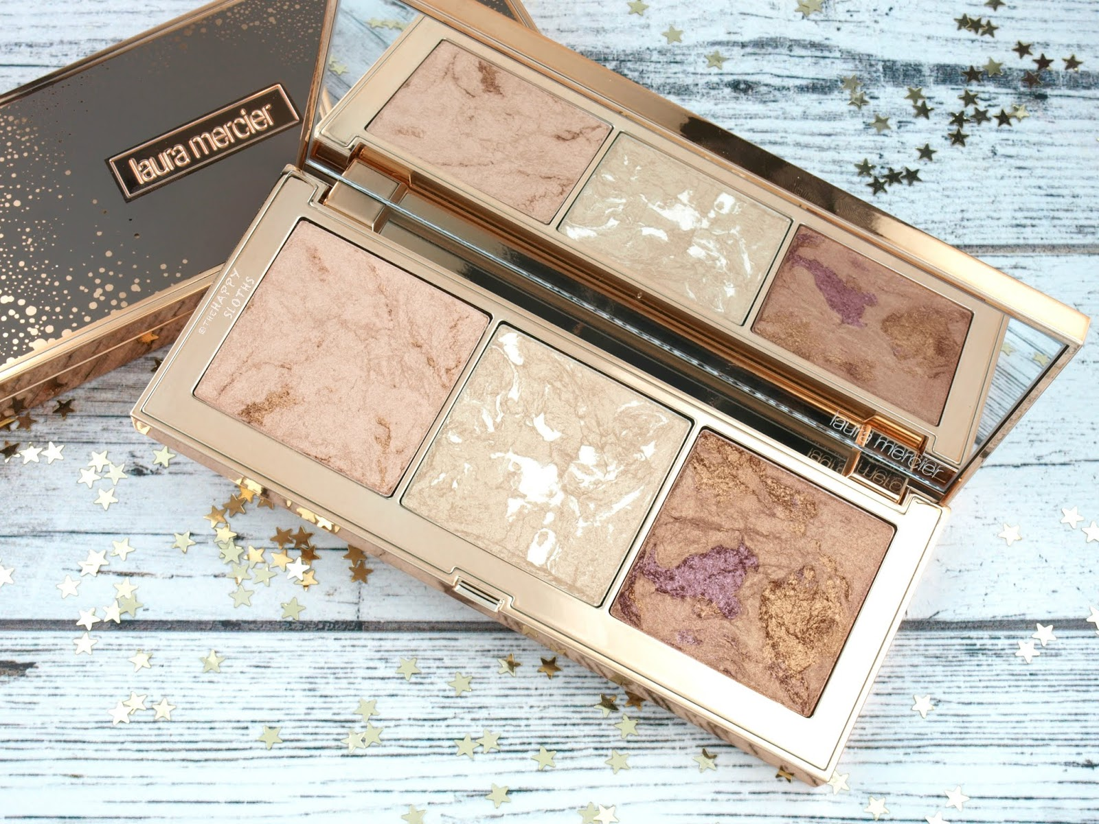 Laura Mercier | Holiday 2018 Stardust Radiant Glow Palette: Review and Swatches