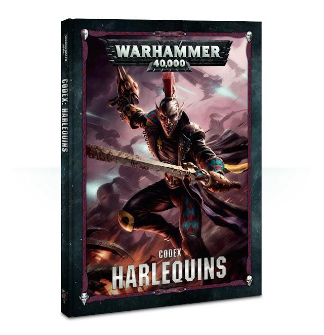 Ep 244 Combat Phase - Harlequins Codex Review