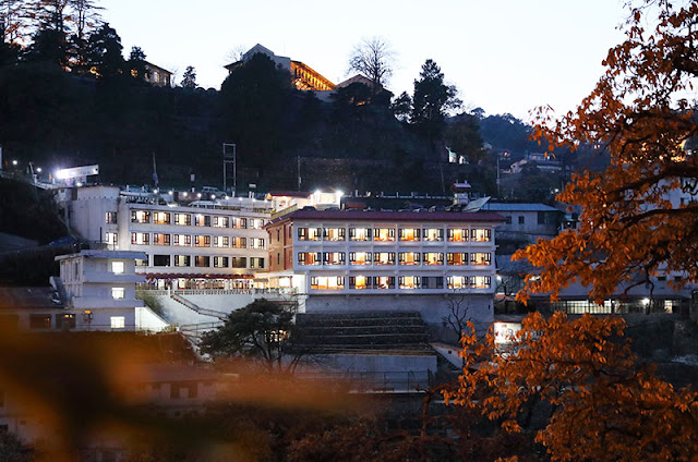 Hotel Vishnu Palace - Mussorrie  For Reservation Contact 9427703236 / 8000999660    Featuring a terrace, Hotel Vishnu Palace is located in Mussoorie in the Uttarakhand region, 1.5 km from Mussoorie Mall Road and 1.9 km from Camel's Back Road. Among the facilities of this property are a restaurant, a 24-hour front desk and room service, along with free WiFi. The property offers car hire and features a garden and children's playground.    Guests at the hotel can enjoy a buffet breakfast.    Kempty Falls is 15 km from Hotel Vishnu Palace. The nearest airport is Dehradun Airport, 54 km from the accommodation.    This property also has one of the best-rated locations in Mussoorie! Guests are happier about it compared to other properties in the area.    Couples particularly like the location — they rated it 9.1 for a two-person trip.    This property is also rated for the best value in Mussoorie! Guests are getting more for their money when compared to other properties in this city.