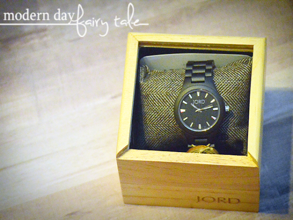 The Perfect Gift For the Man In Your Life: JORD Watches {+ a $100 JORD Giveaway} #HolidayGiftGuide2017