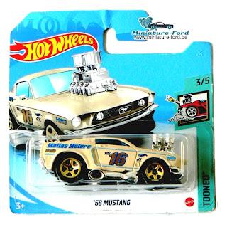 HotWheels, 68 Mustang
