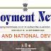 Employment news, Rojgar Samachar 03rd October to  09 October 2020