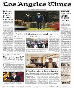 Los Angeles Times Magazine 9 November 2020 | Los Angeles News | Free PDF Download