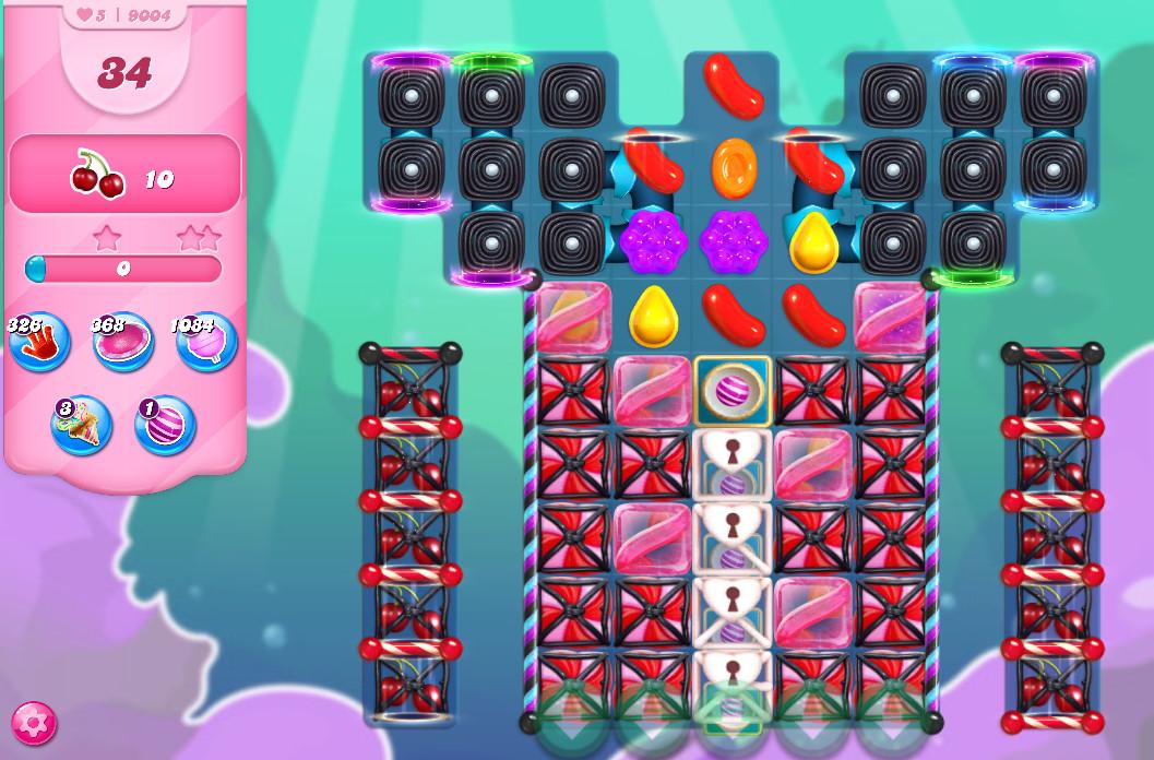 Candy Crush Saga level 9004