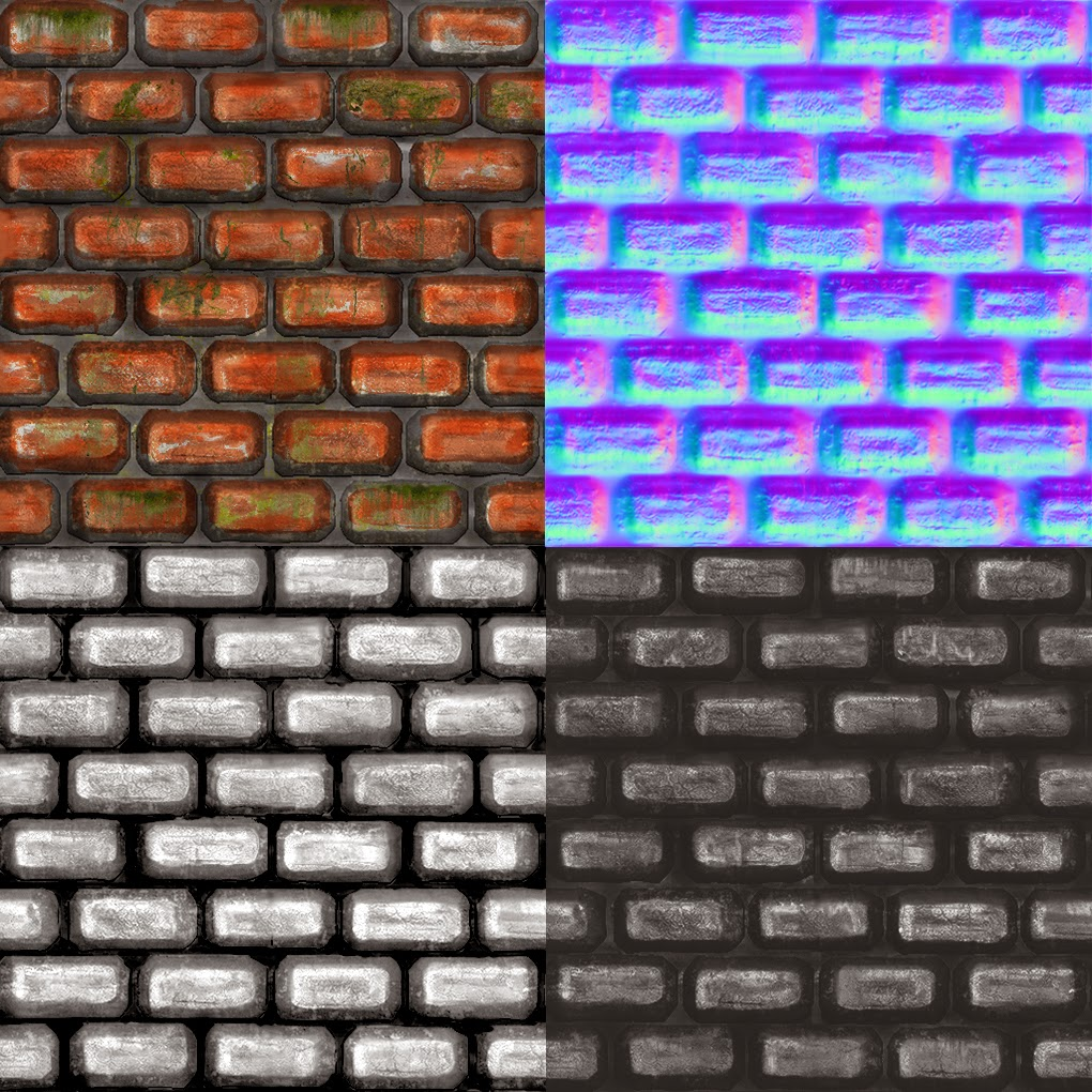 Brick Map Texture Alpha