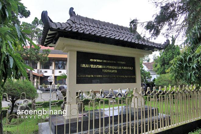 papan nama balai pelestarian peninggalan purbakala BP3 yogyakarta