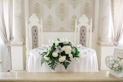sala matrimonio sposi villa valente