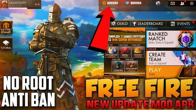 Tips Download Fire (FF) Mod Apk 2019 Terbaru
