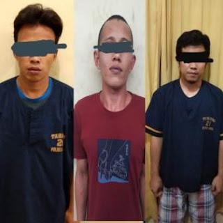 Tersangka Spesialis Pencuri Ternak Dibekuk Sat Reskrim Polres Solok Kota