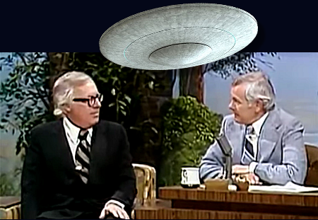 UFOs, Flying Saucers & Contactees – A Conversation With Johnny Carson and Ray Bradbury - VIDEO