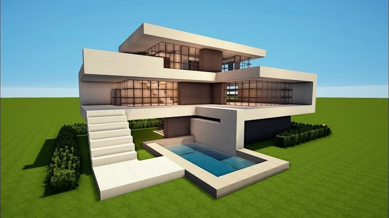 Building a modern house takes time and requires a lot of materials