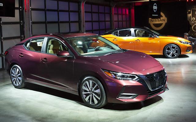 Novo Nissan Sentra 2020 é apresentado nos EUA - fotos