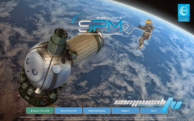 Buzz Aldrins Space Program Manager PC Full