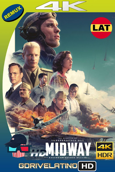 Midway: Ataque en Altamar (2019) BDRemux 4K HDR Latino-Ingles MKV