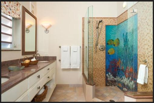 15 Beach Themed Bathroom Design Ideas: EZ Decorating Know-How: Bathroom Designs