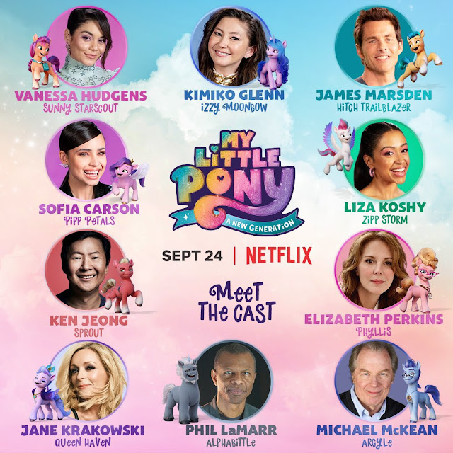 My Little Pony: A New Generation Cast List