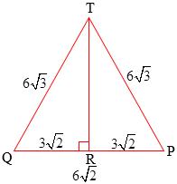 Jarak Titik T ke garis PQ