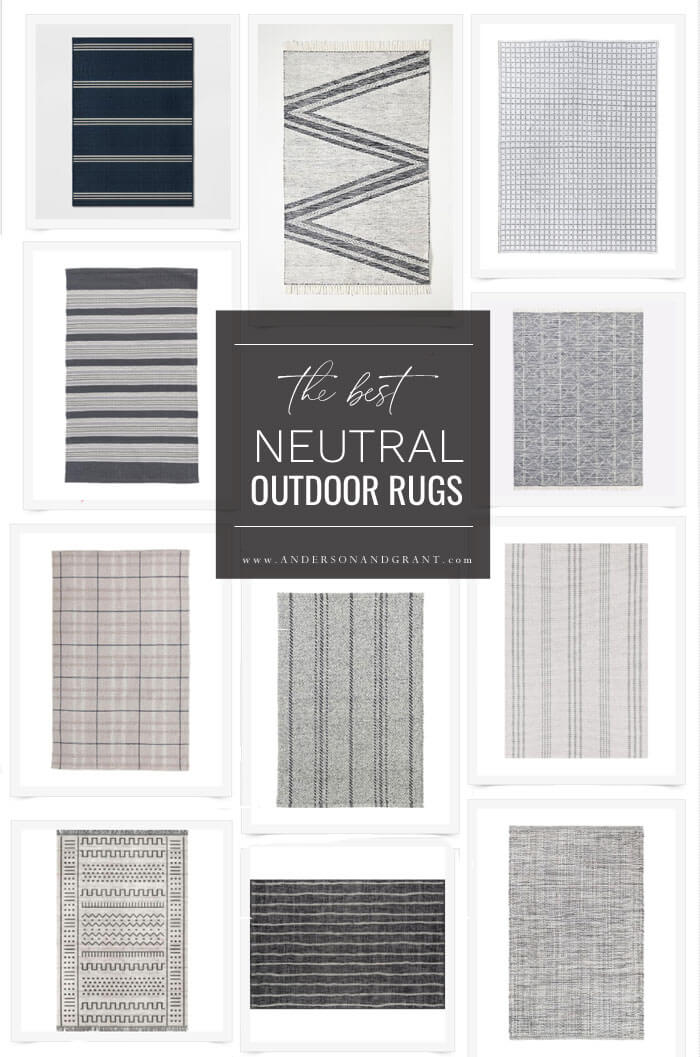 Best Neutral outdoor rugs