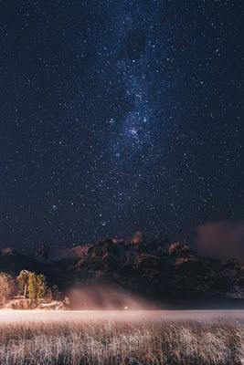 iPhoneのための美しい星空の壁紙