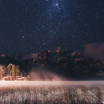 美しい星空の壁紙