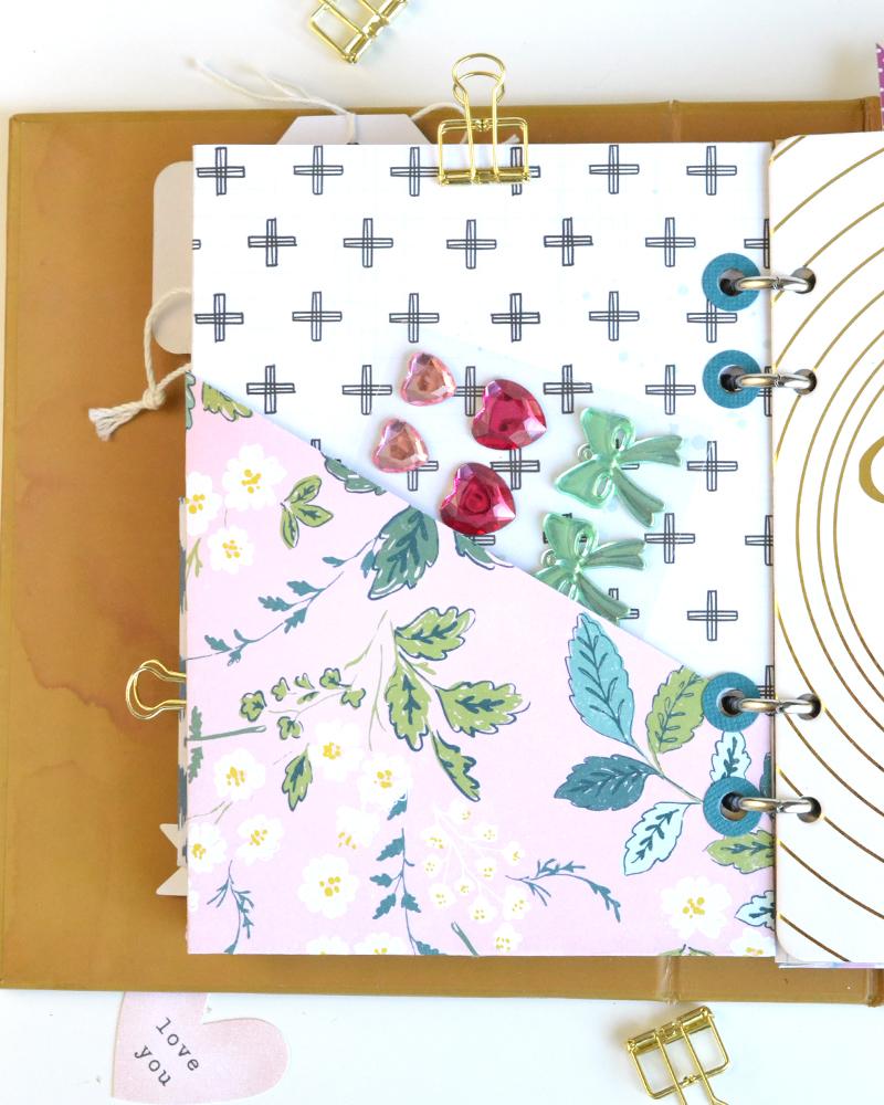 Aly Dosdall: diy pocket folder planner insert