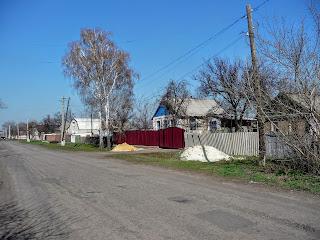 Лысовка, Покровский р-н. Центральная ул.