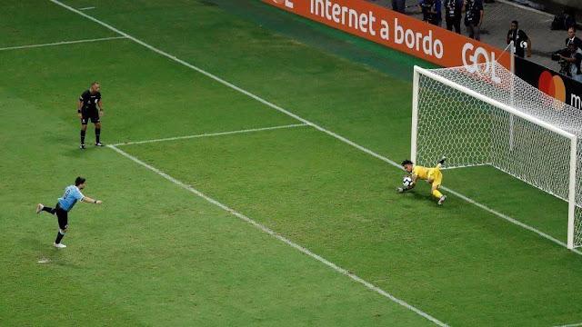 Три из четырех четвертьфиналов Кубка Америки закончились со счетом 0:0 и дошли до серии пенальти