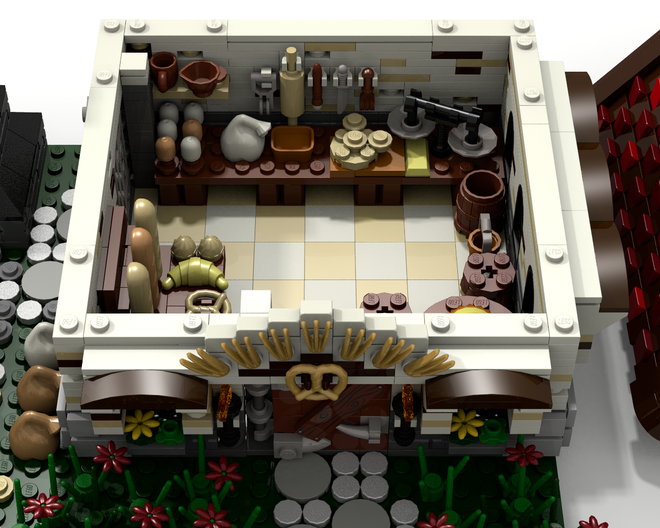 All Day Bricks: Medieval Bakery LEGO Ideas Project Review