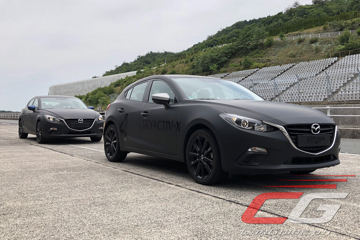 Tucked Behind The Current Generation Body And The Matte Black Paint Job  Lurks The All New 2019 Mazda3. Slated For Market Release Sometime Between  April 2019 ...