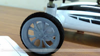 SongYang X25-1 Flying Quadcopter Car Wheels Cover