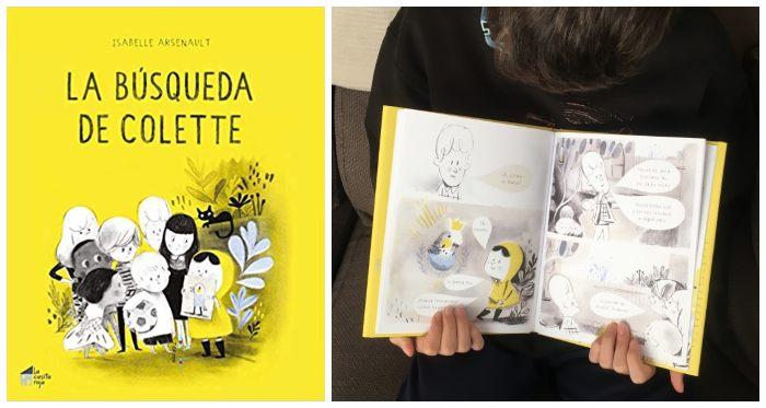 Cuentos infantil regalar navidades 3 a 5 años La búsqueda de Colette cómic