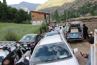 Chitral 0.4 million vehicles of tourists came to Chitral and #Kalash valley