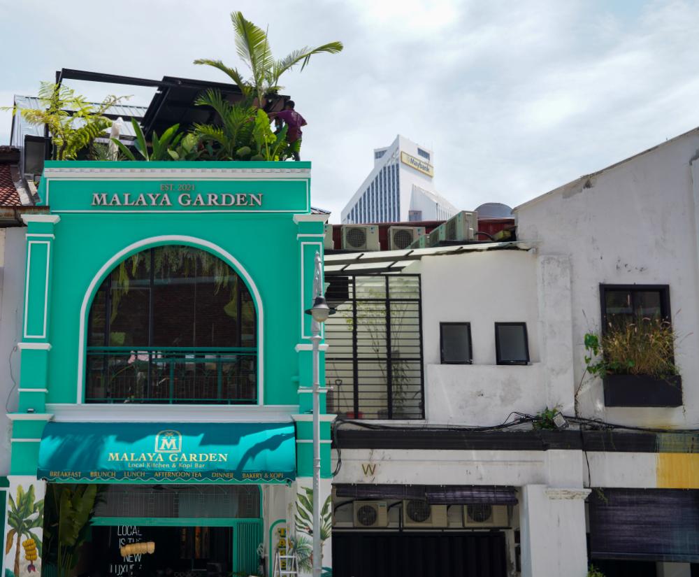 malaya garden, off petaling street