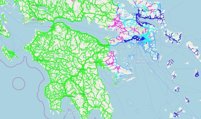 Εφαρμογή στο κινητό σας δείχνει on line τις καιρικές συνθήκες σε όλο το οδικό δίκτυο