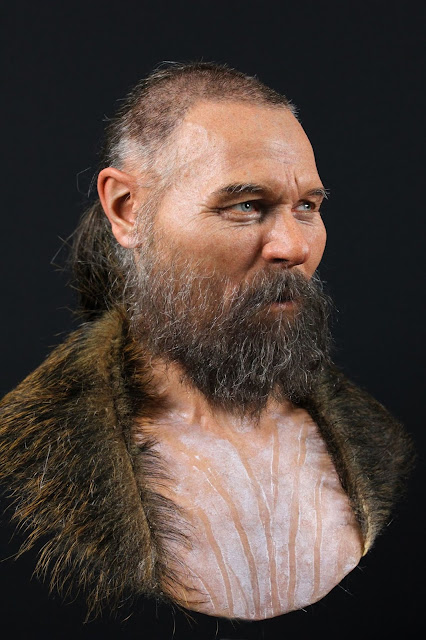 Face of Scandinavian man whose head was mounted on a stake 8,000 years ago revealed through facial reconstruction