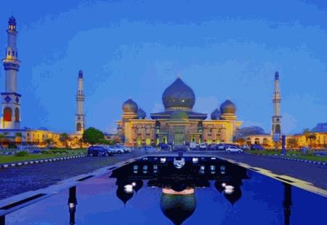Taj Mahalnya Indonesia Ada di Pekanbaru